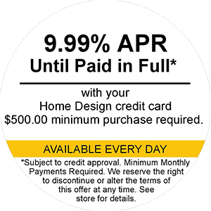 9.99% APR Until Paid In Full Available Every Day
